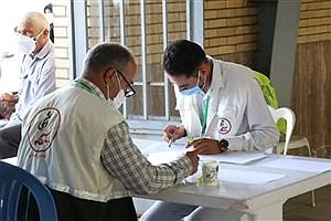 تصویر  افتتاح مرکز واکسیناسیون کرونای بسیج جامعه پزشکی رفسنجان
