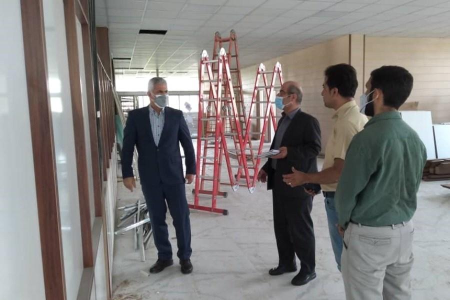 بازدید مدیرعامل پست بانک از روند بازسازی پروژه منطقه شرق تهران