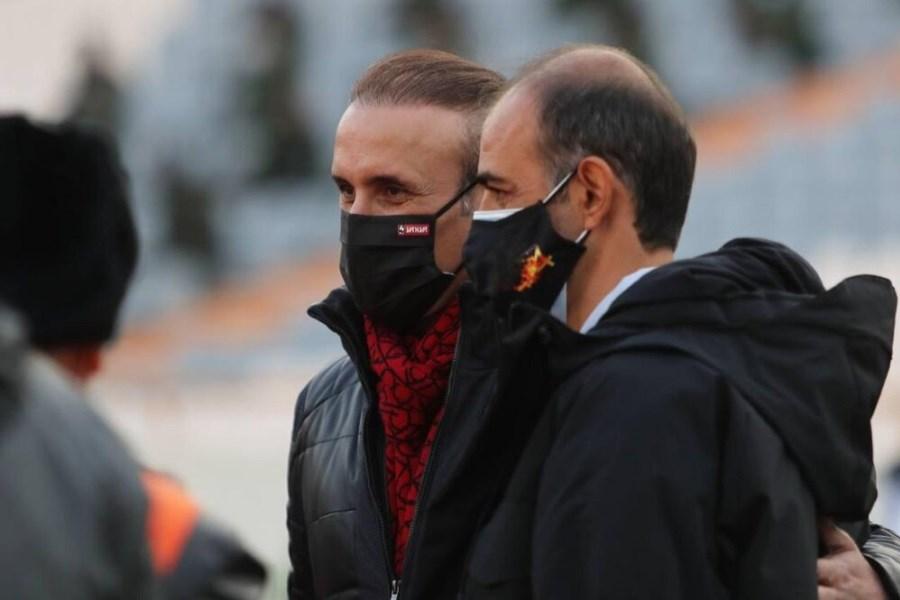 جدال جذاب گلمحمدی و نویدکیا در هفته پایانی لیگ بیستم