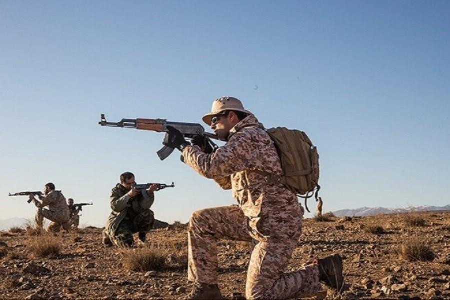 یک تیم مسلح تروریستی توسط سپاه پاسداران منهدم شد