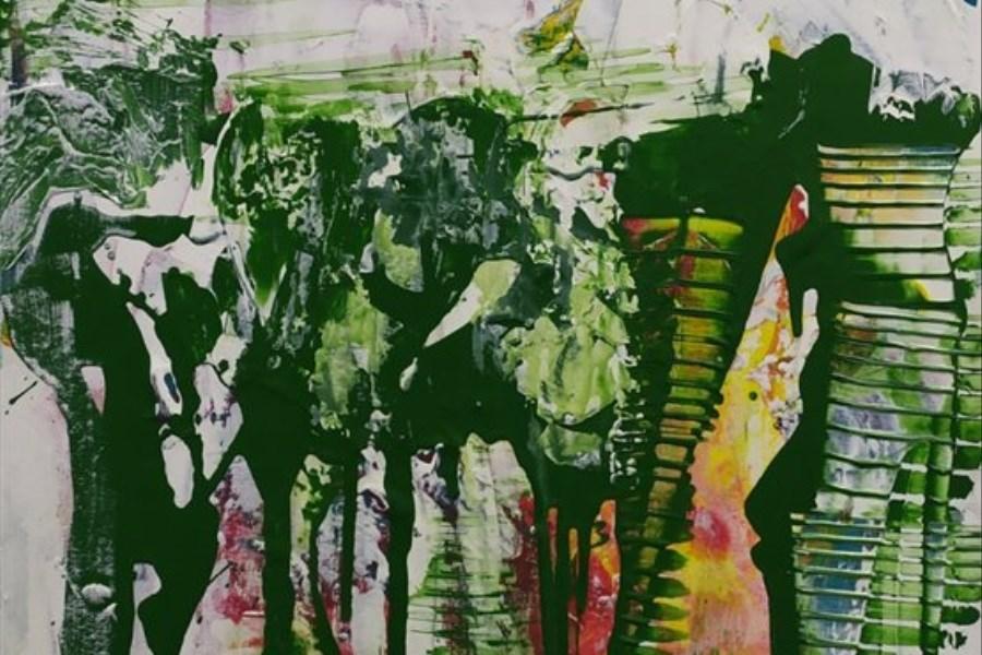 تصویر به تماشای نقاشی های نمایشگاه انفرادی «صدف کباری» بروید