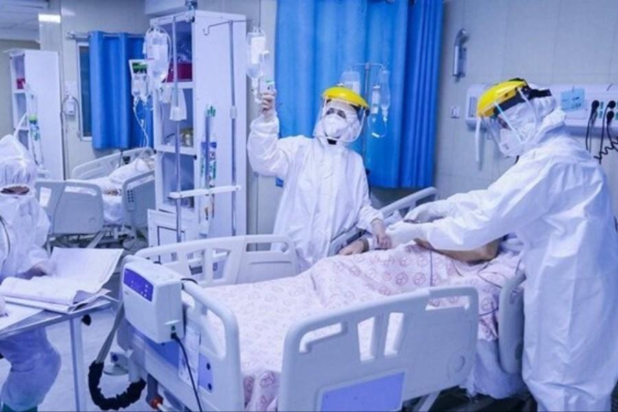 تصویر بیمارستانهای تهران پر شد