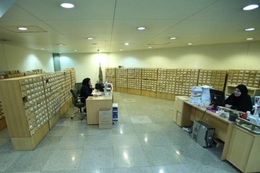 ۳۴ هزار کتاب در کتابخانه ملی ایران