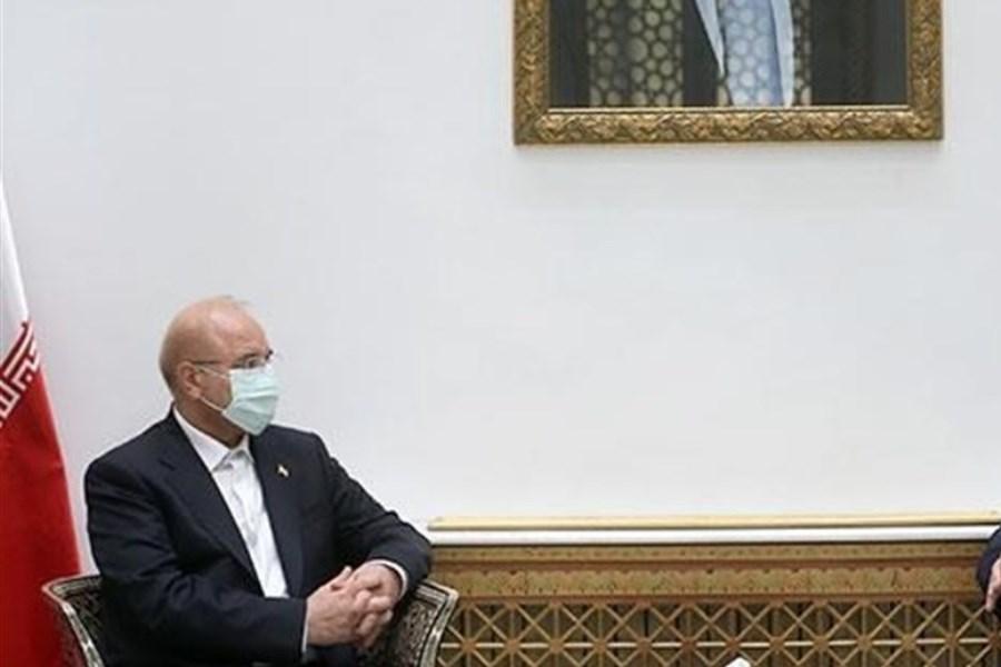 سوریه و ایران در خط مقدم مقابله با دشمنیها قرار دارند