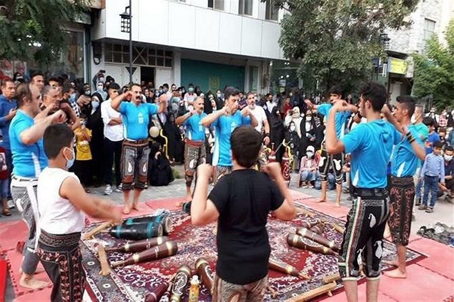 تصویر برگزاری جشن عید غدیرخم در شهرستان بیجار