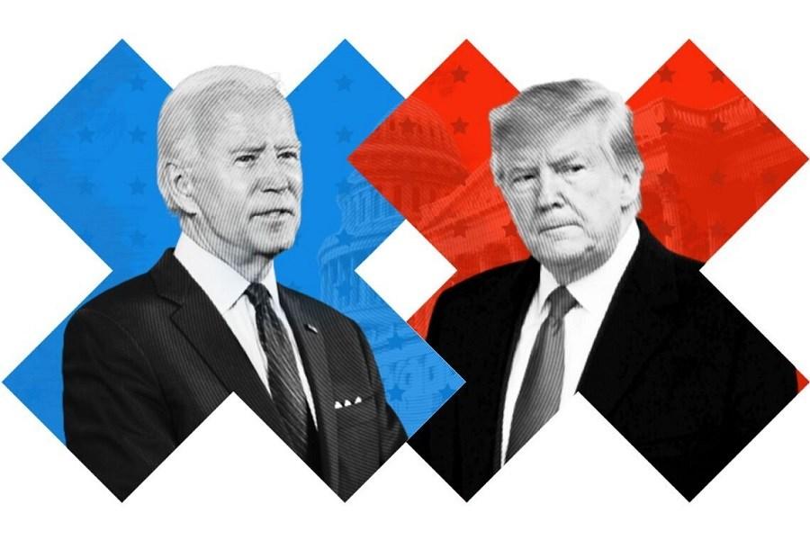 ترامپ حامیان بایدن را تهدید کرد