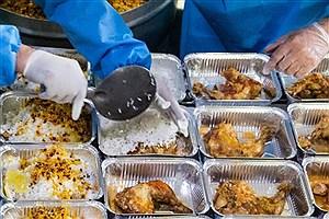تصویر  توزیع ۲۰ هزار پرس غذای گرم در روستاها