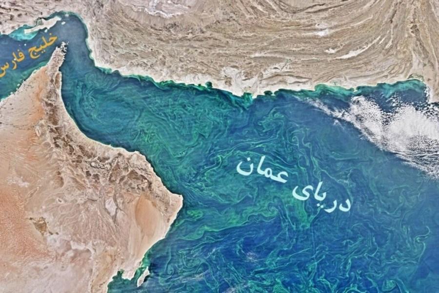 تصویر یک منبع انگلیسی ادعای هدف قرار گرفتن یک کشتی در سواحل عمان را مطرح کرد