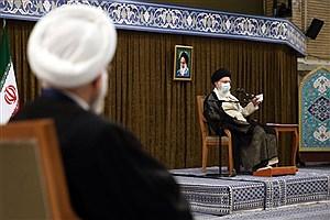 تصویر  تکذیب شایعات در مورد آخرین دیدار هیئت دولت با رهبر انقلاب