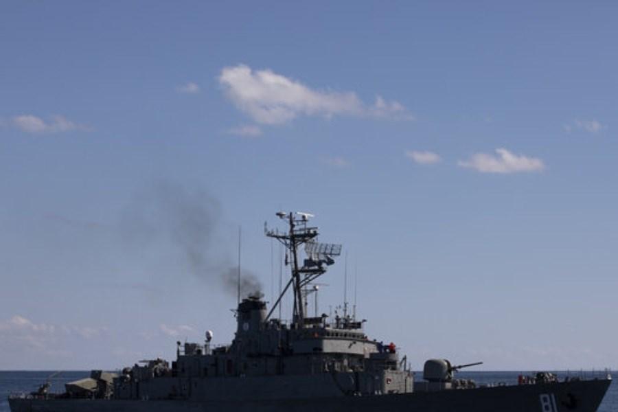 تصویر مرگ دو نفر در کشتی اسرائیلی در دریای عمان