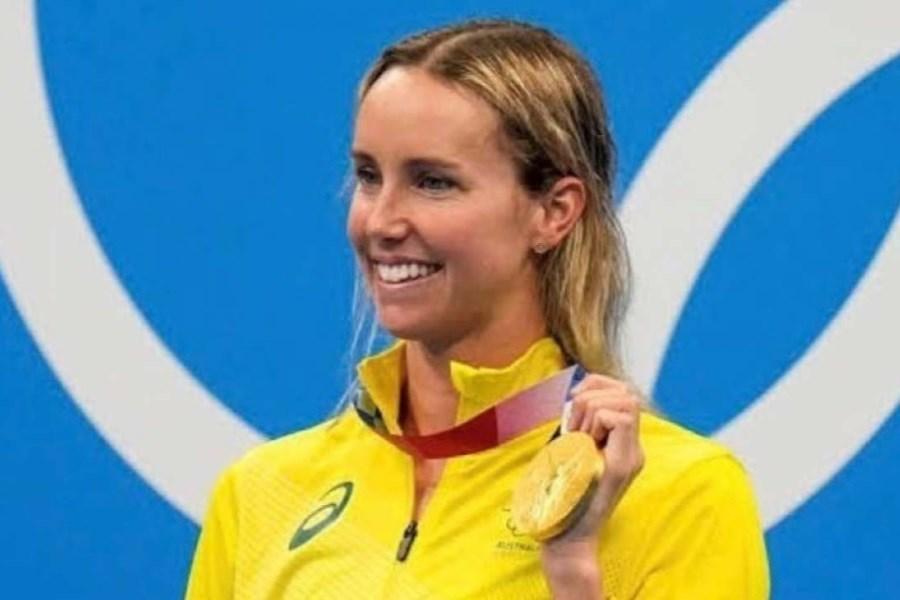 تصویر شناگر استرالیایی پر افتخارترین ورزشکار زن المپیک شد