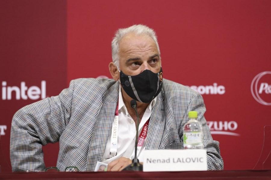 نشست خبری رئیس اتحادیه جهانی کشتی برگزار شد