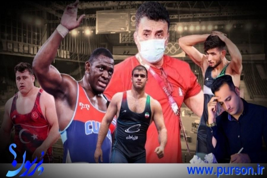 ایران ناکام از روز نخست مسابقات کشتی فرنگی المپیک توکیو