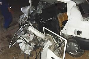 تصویر  ۲ کشته و سه مجروح در تصادف جاده بوشهر-گناوه