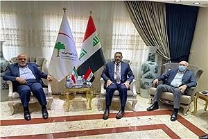 تصویر  رایزنی سفیر ایران با وزیر بهداشت عراق