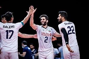 تصویر  والیبالیست ایرانی بهترین دریافت کننده المپیک شد