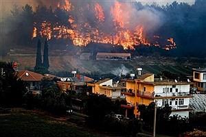 تصویر  «چراغی که به خانه رواست، به مسجد حرام است»/ استفاده از بالگردهای آبپاش ایران در آتشسوزی ترکیه