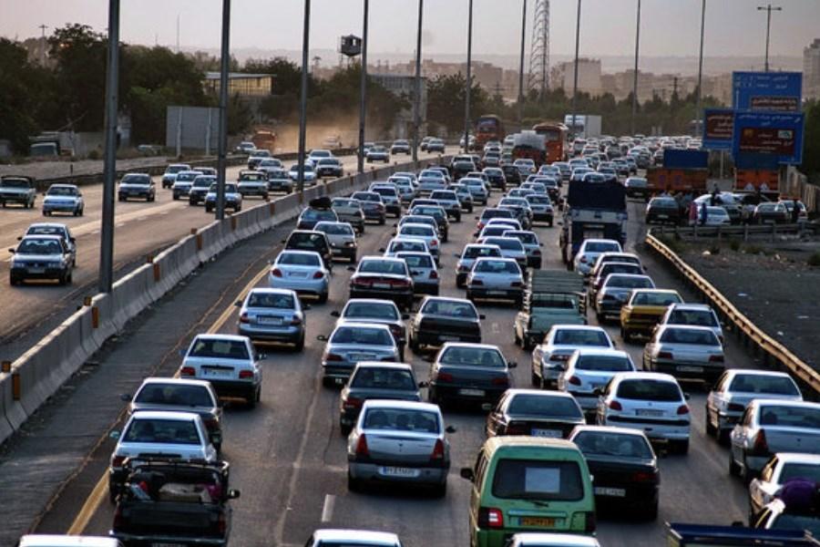 افزایش 6 درصدی تردد/ محورهای پرترافیک در آخر هفته
