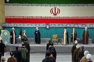 تصویر  آغاز مراسم تنفیذ سیزدهمین دوره ریاستجمهوری اسلامی