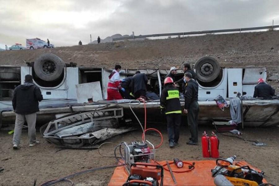 خبرنگاران بازمانده از واژگونی اتوبوس بیانیه  دادند