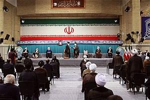 تصویر  حاضران و غایبان مراسم تنفیذ/ از احمدینژاد و خاتمی تا لاریجانی و رقبای رئیسی