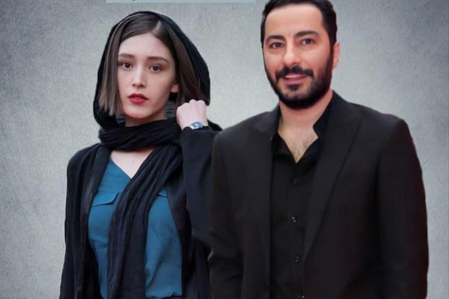 عکس فرشته حسینی روی مجله خارجی
