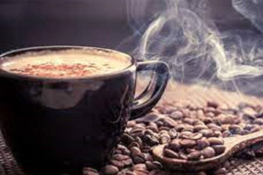 تصویر زمان مناسب نوشیدن قهوه