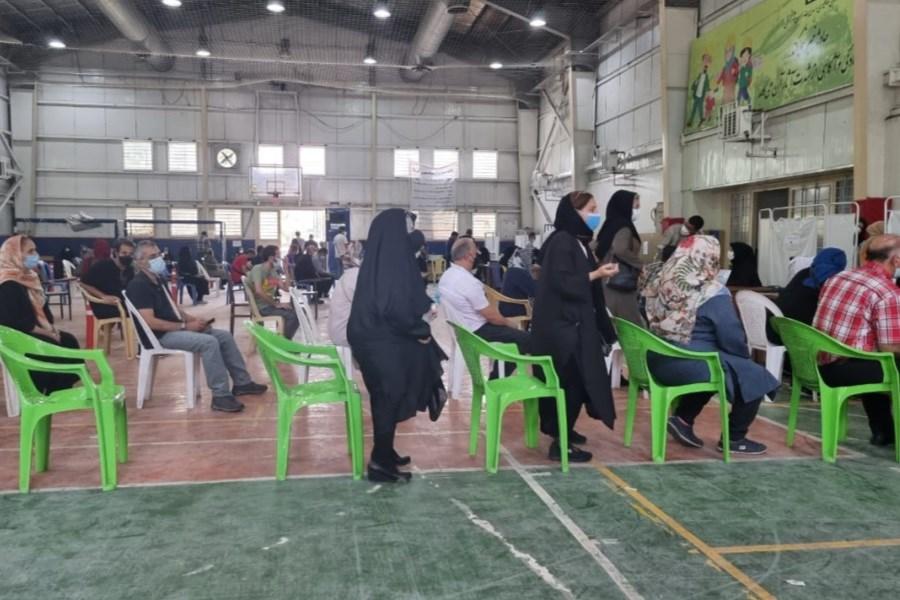 واکسیناسیون خبرنگاران و کارمندان بانک در استان یزد آغاز شده است