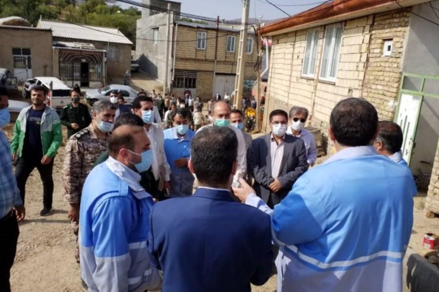 بازدید رئیس سازمان مدیریت بحران کشور از مناطق سیلزده قزوین