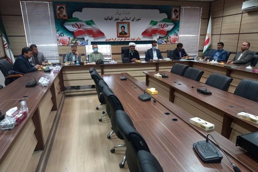 اعضای هیات رییسه شورای اسلامی شهر اقبالیه در دوره ششم مشخص شدند