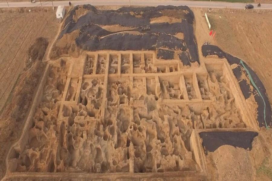 تصویر قدیمیترین ضرابخانه جهان کشف شد