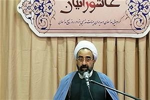 تصویر  انقلاب اسلامی آمیخته با تفکر عاشورایی بوده و خاموش شدنی نیست