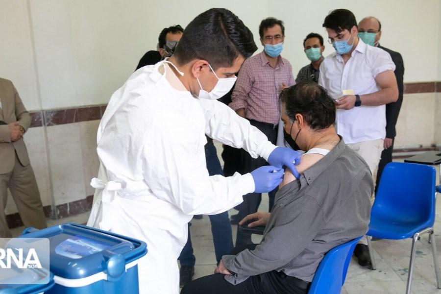 25 درصد جمعیت بالای ۱۸ سال استان  واکسن کرونا دریافت کردند