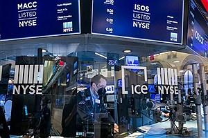 تصویر  سهام آمریکا رکورد جدید زد