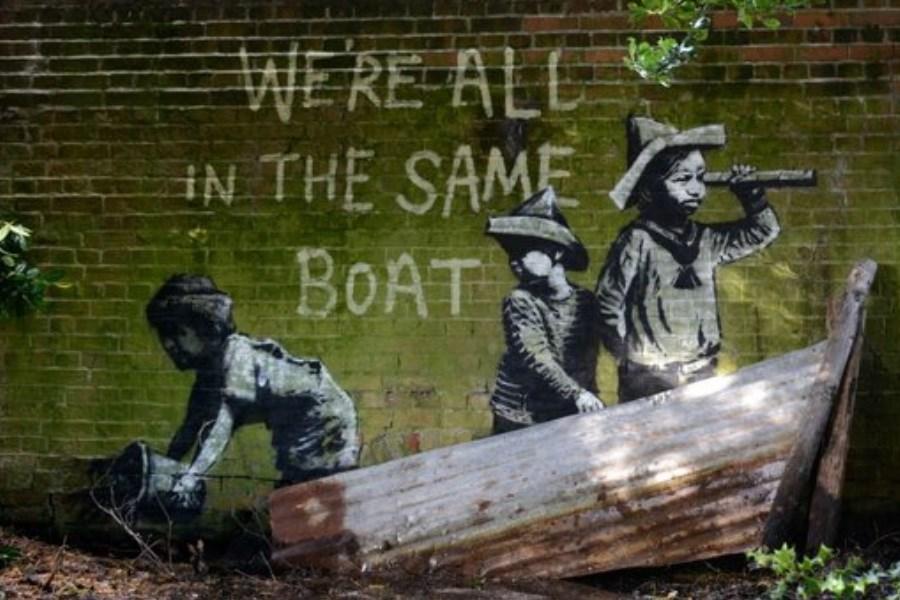 تصویر ظهور آثار نقاش مشهور در شهرهای ساحلی