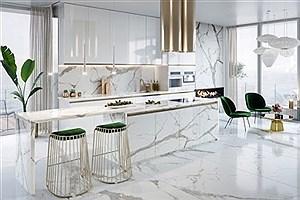تصویر  اصول دکوراسیون آشپزخانه مدرن را بشناسید