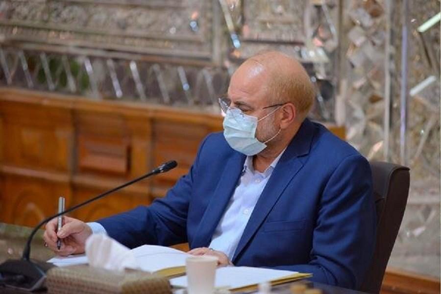 امضای حکم 2 انتصاب جدید در مجلس توسط قالیباف