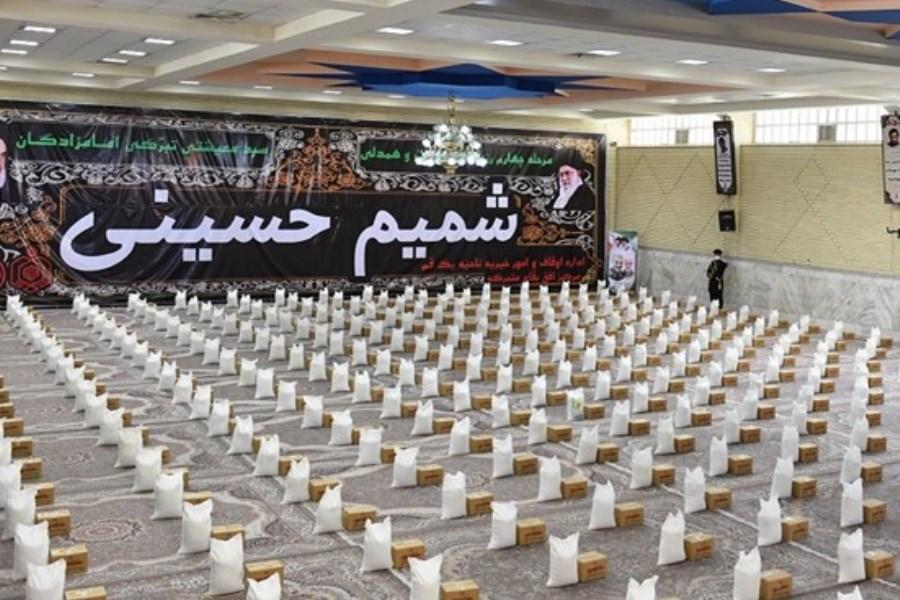 توزیع ۵۰۰ بسته حمایتی بین هیئتهای مذهبی گلستان