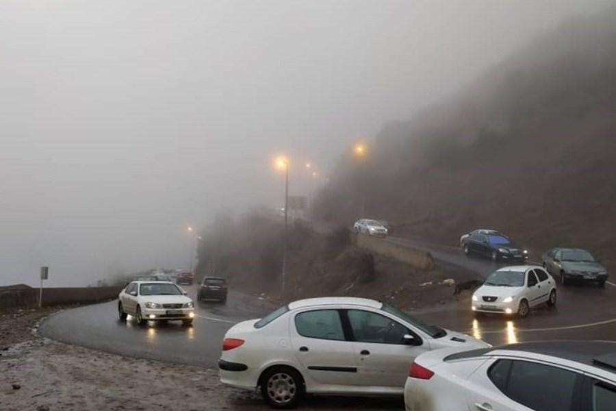 جاده چالوس تا 20 شهریور مسدود است