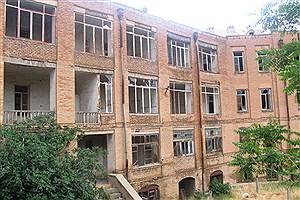 تصویر  حال و روز ناخوش دومین بیمارستان تاریخی ایران