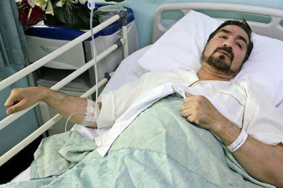 حال و روز این روزهای مجری تلویزیون در بیمارستان