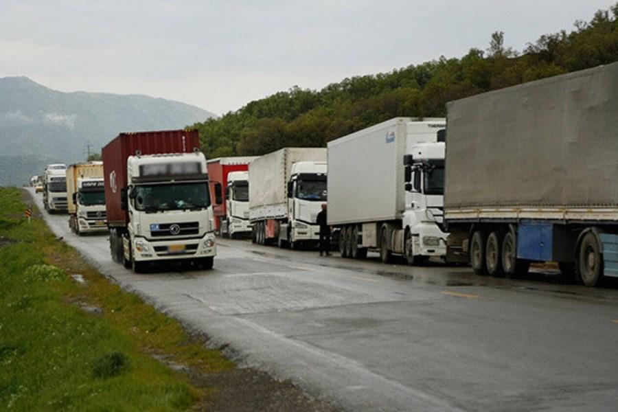 دلایل معطلی دو هفتهای کامیونها در مرز بازرگان اعلام شد