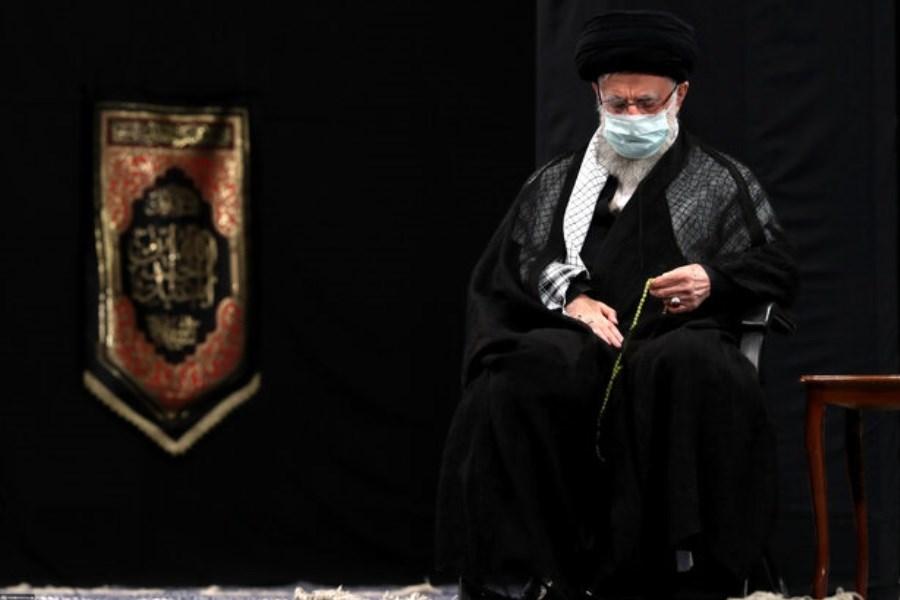 مراسم عزاداری تاسوعای حسینی با حضور رهبر معظم انقلاب برگزار شد