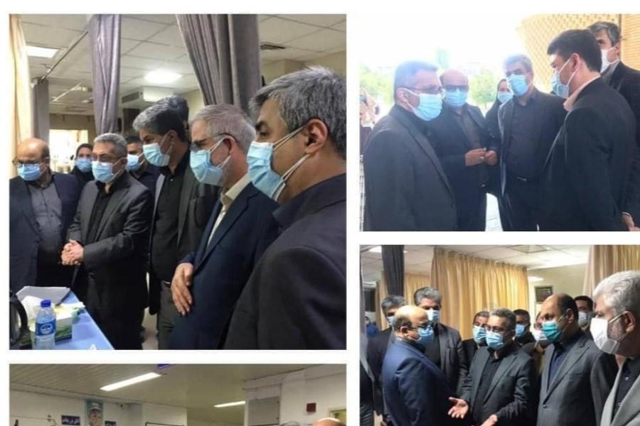 بازدید معاون درمان وزارت بهداشت از بیمارستان آل جلیل آققلا