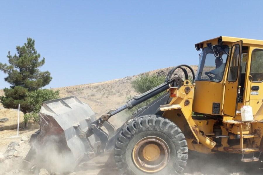 کشف زمینخواری ۴۹ میلیارد ریالی در شهرستان دیر