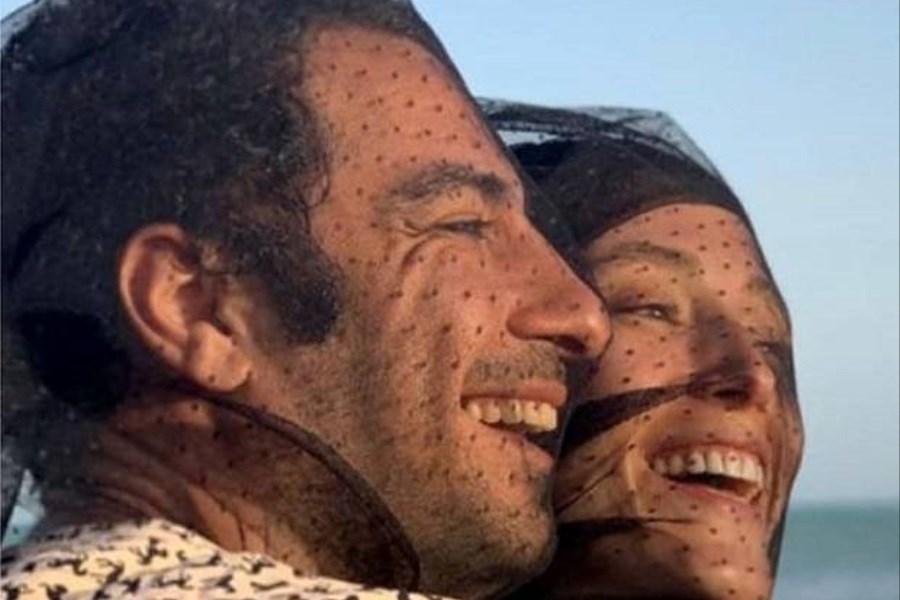 عاشقانه جدید فرشته حسینی برای نوید محمدزاده