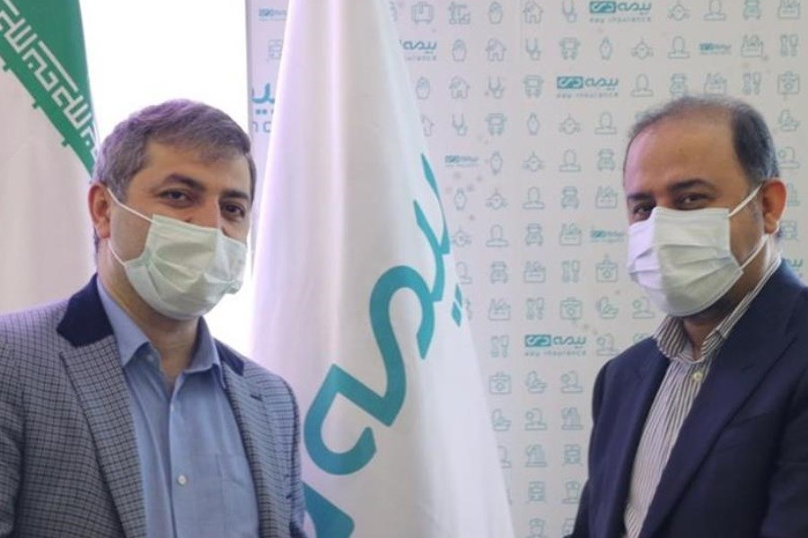 اهدای نشان سلامت وزارت بهداشت به بیمه دی