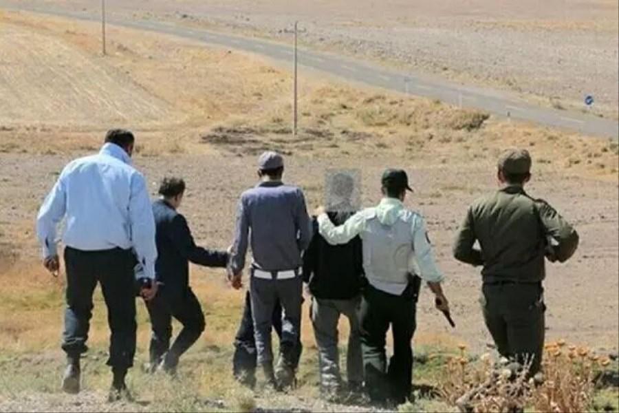 دستگیری ۲ حفار غیرمجاز در محوطه باستانی جیرفت