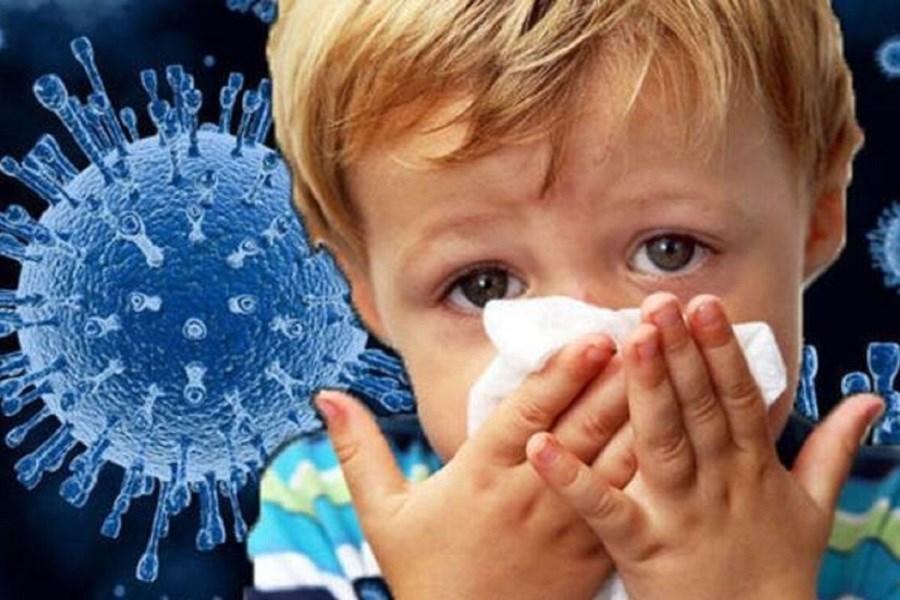تصویر سویه جدید کرونا در کودکان