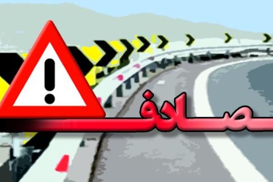 ۲۵ نفر کشته و مصدوم در حادثه واژگونی خودرو